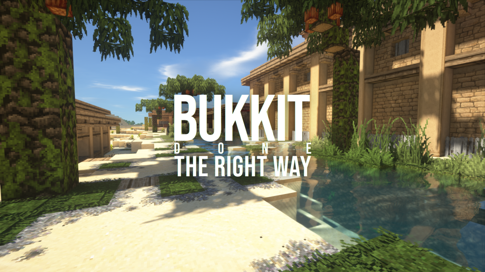 Bukkit done the right way Logo